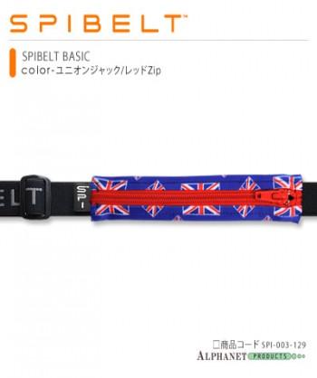 SPIBELT BASIC ユニオンジャック/レッドZip