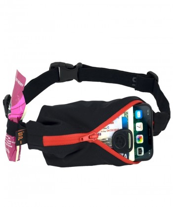 SPIBELT LARGE RAIN RESISTANTS BLACK/RED