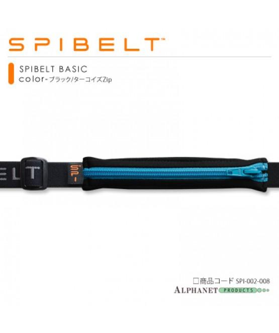 SPIBELT BASIC ブラック/ターコイズZip